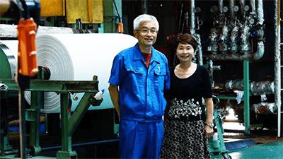 夫婦二人三脚で『循環型社会に貢献する』/山陽製紙株式会社 代表取締役 原田 六次郎 さん